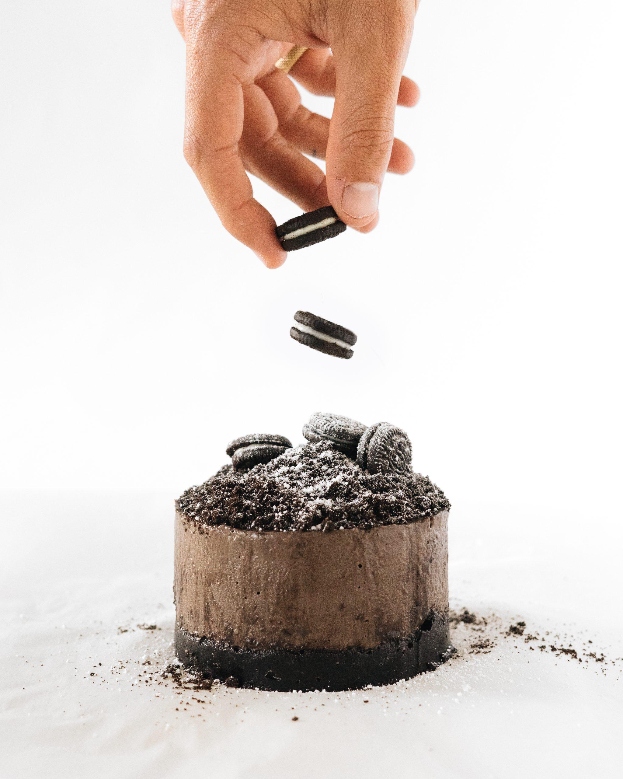 Black mountain tarta de Oreo vegana